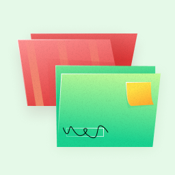 Folders illustration