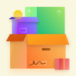Boxes illustration