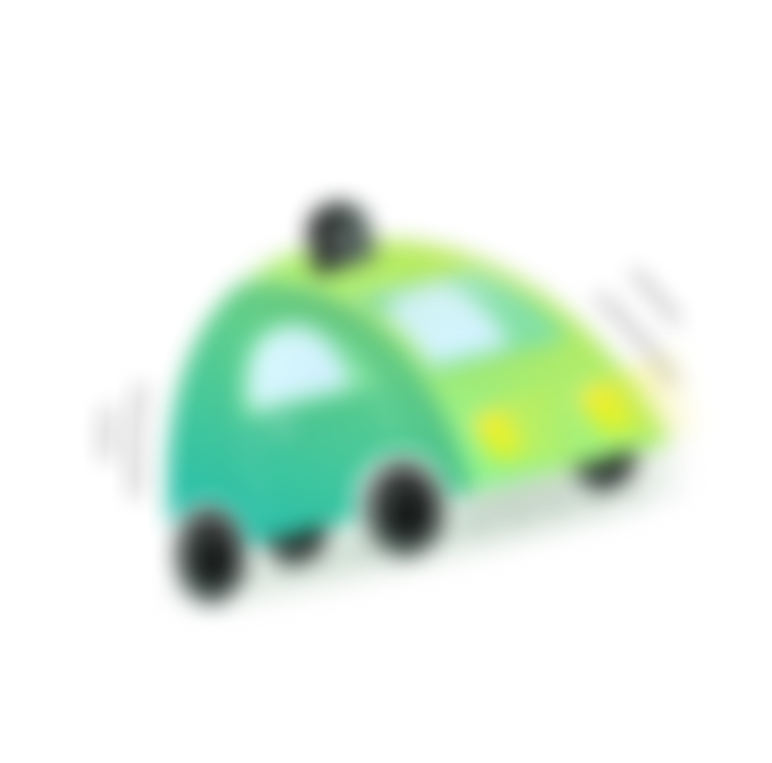 Blurred car Illustration