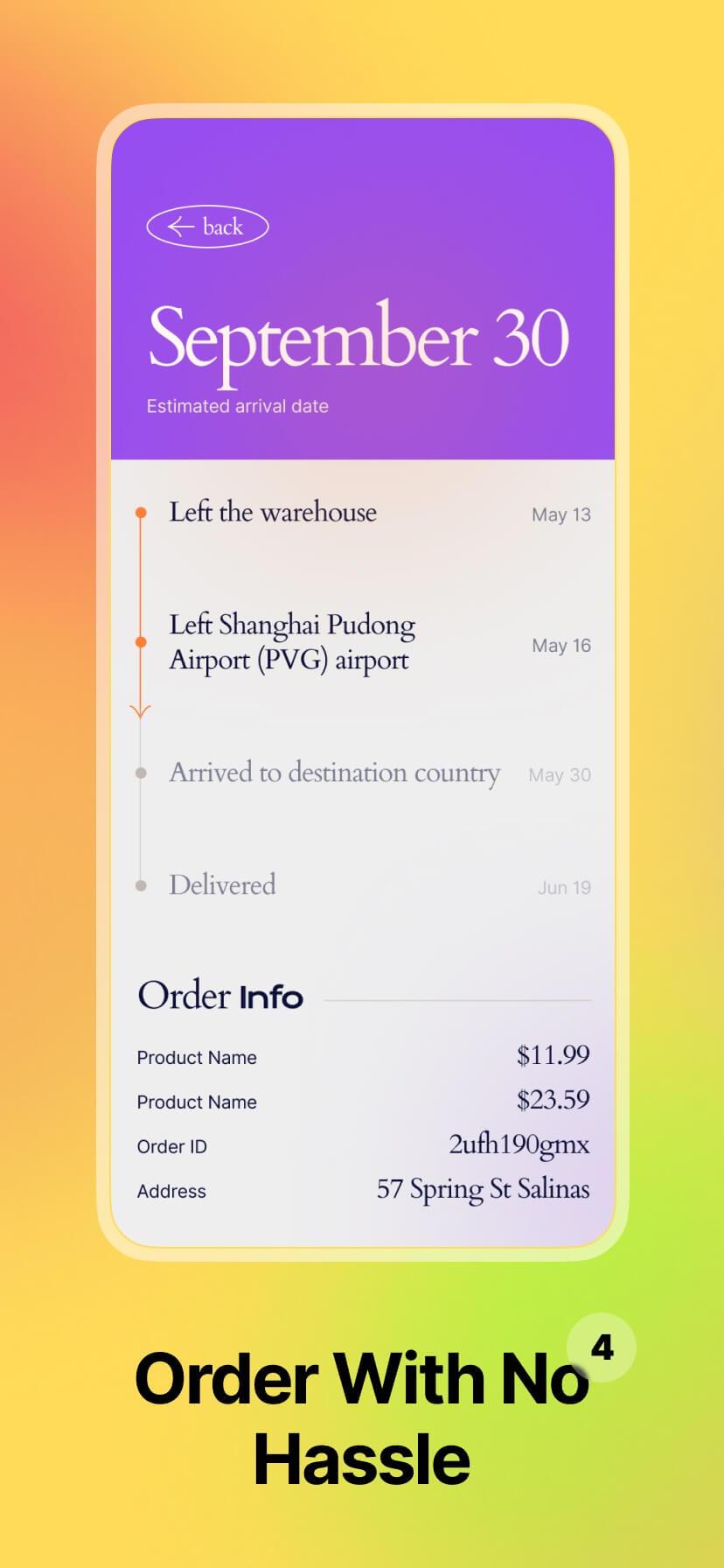 Colorful app store screenshot #4