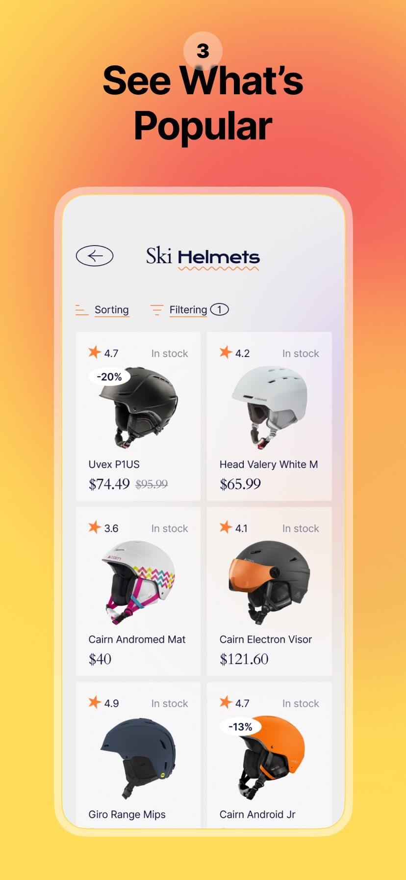 Colorful app store screenshot #3