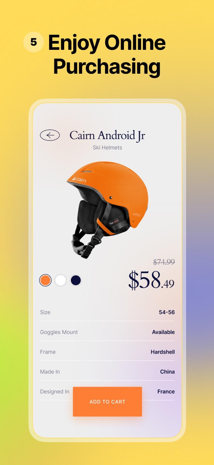 Colorful app store screenshot #5