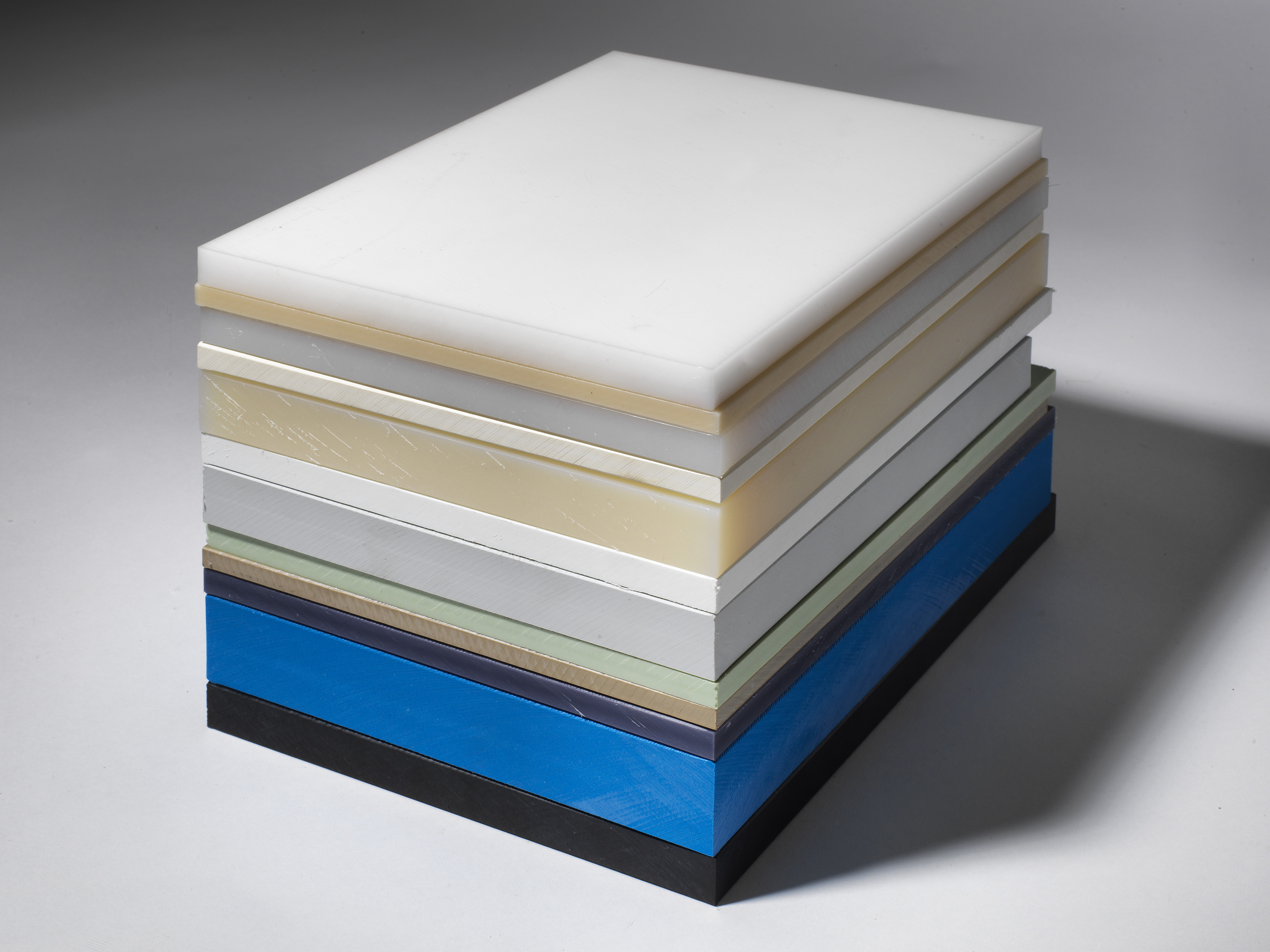 Stack of Plastic Sheets