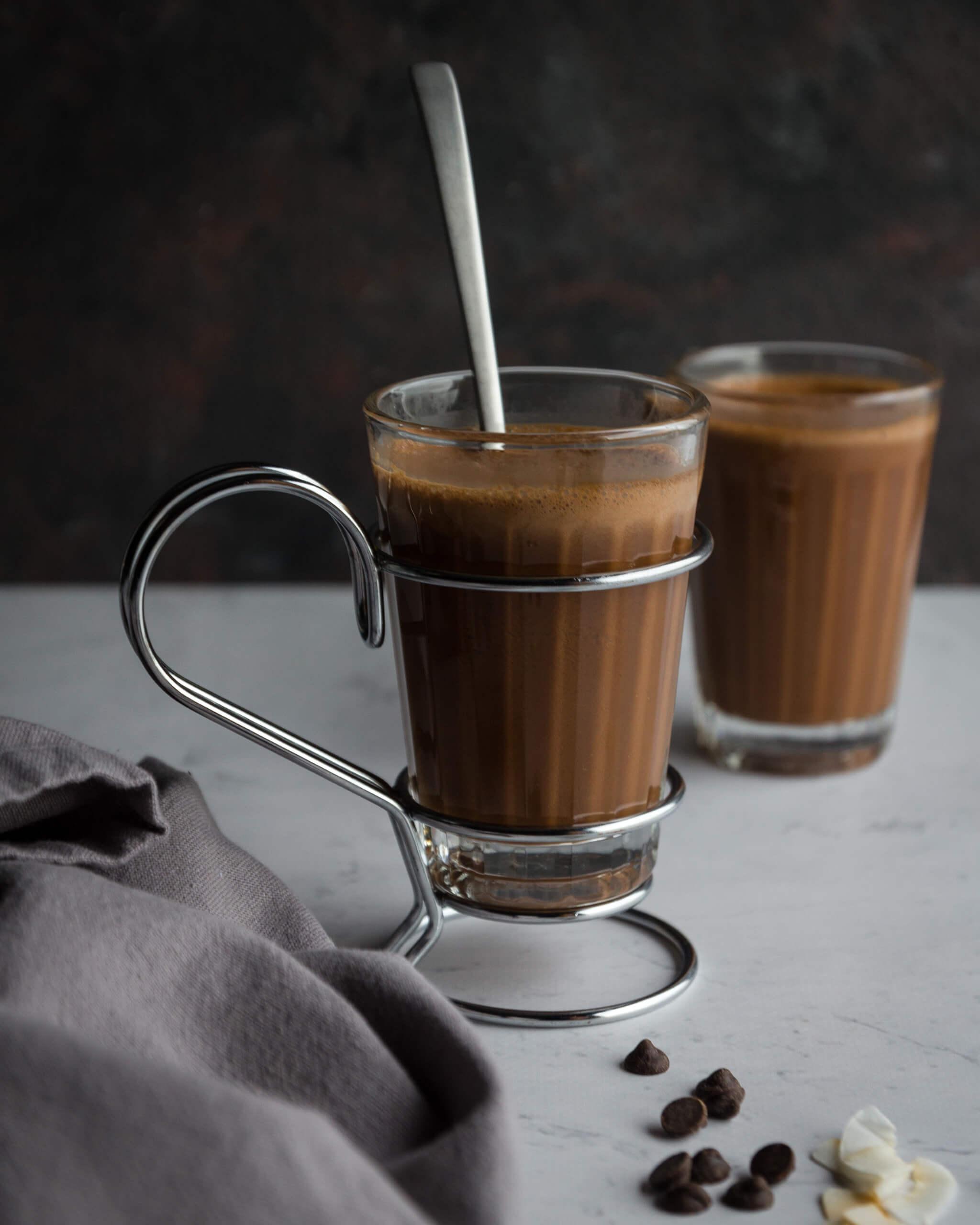 Chocolate Quente Espumoso