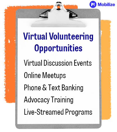 Offering virtual volunteering opportunities ensures your volunteer management strategies are effective for any type of event, virtual or in-person.