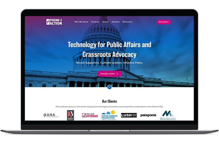 Phone2Action's advocacy software is ideal for supporting your communication and phone banking tactics.