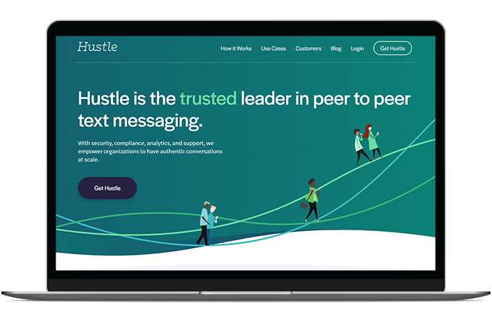 Hustle's advocacy software is the trusted leader in the peer-to-peer texting space.