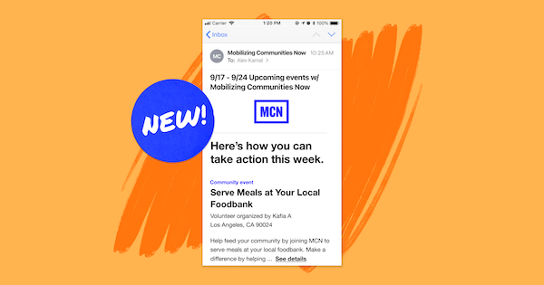 We're constantly creating new features to help orgs better engage with their supporters. Introducing the weekly newsletter (and more)!