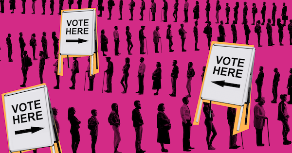 Learn about the current conditions of U.S voter suppression and what you can do to facilitate advancement.