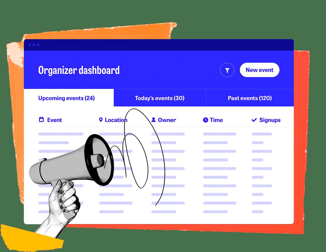 mobilize organizer dashboard