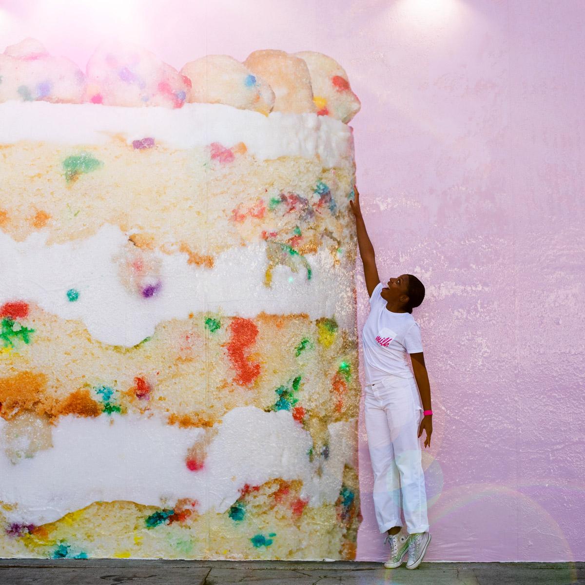 Milk Bar Cake Mural