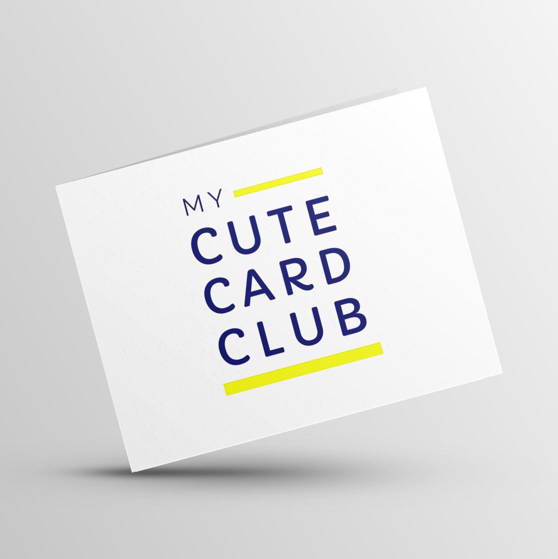 My Cute Card Club Card