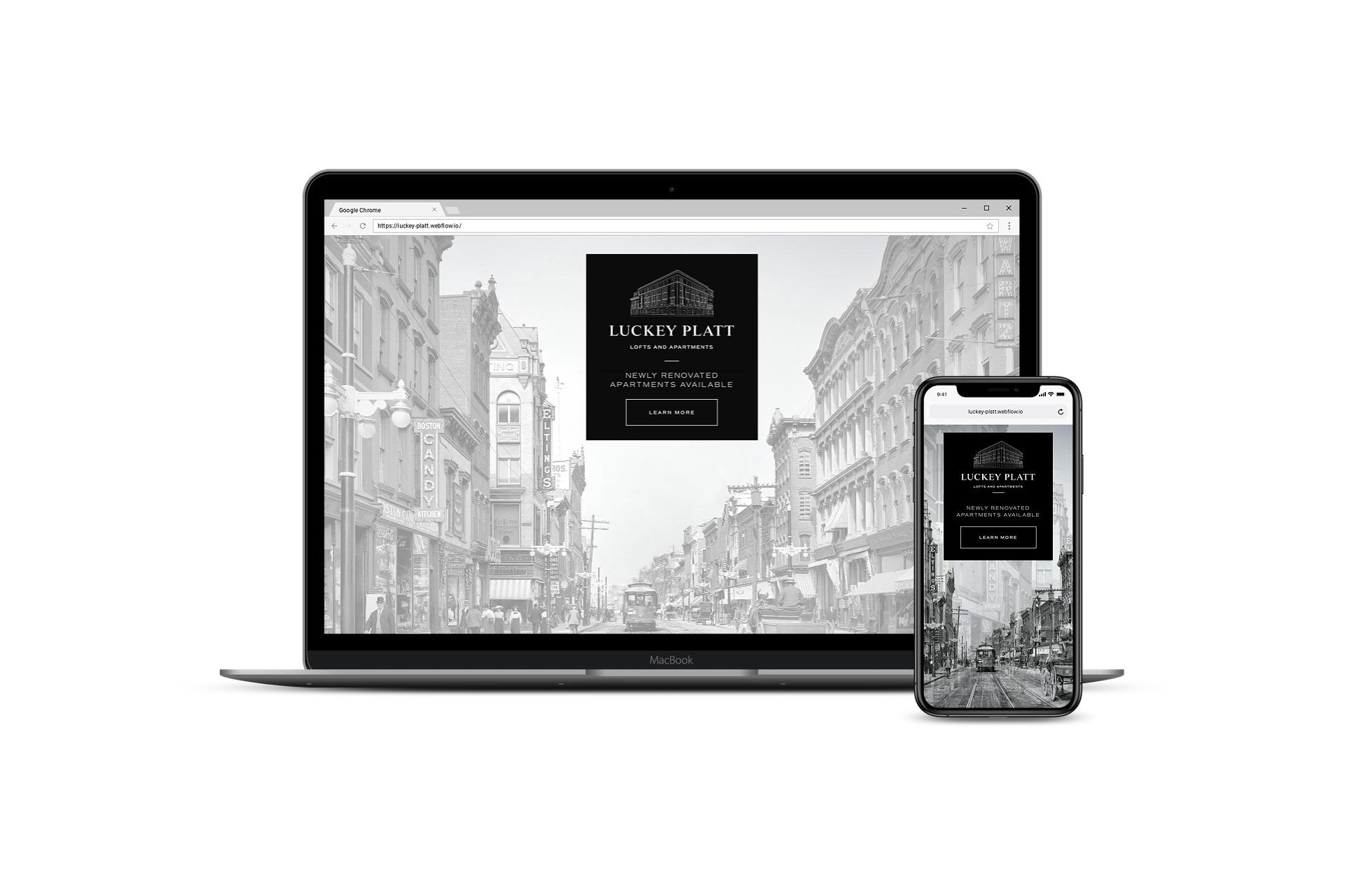 Luckey Platt Website