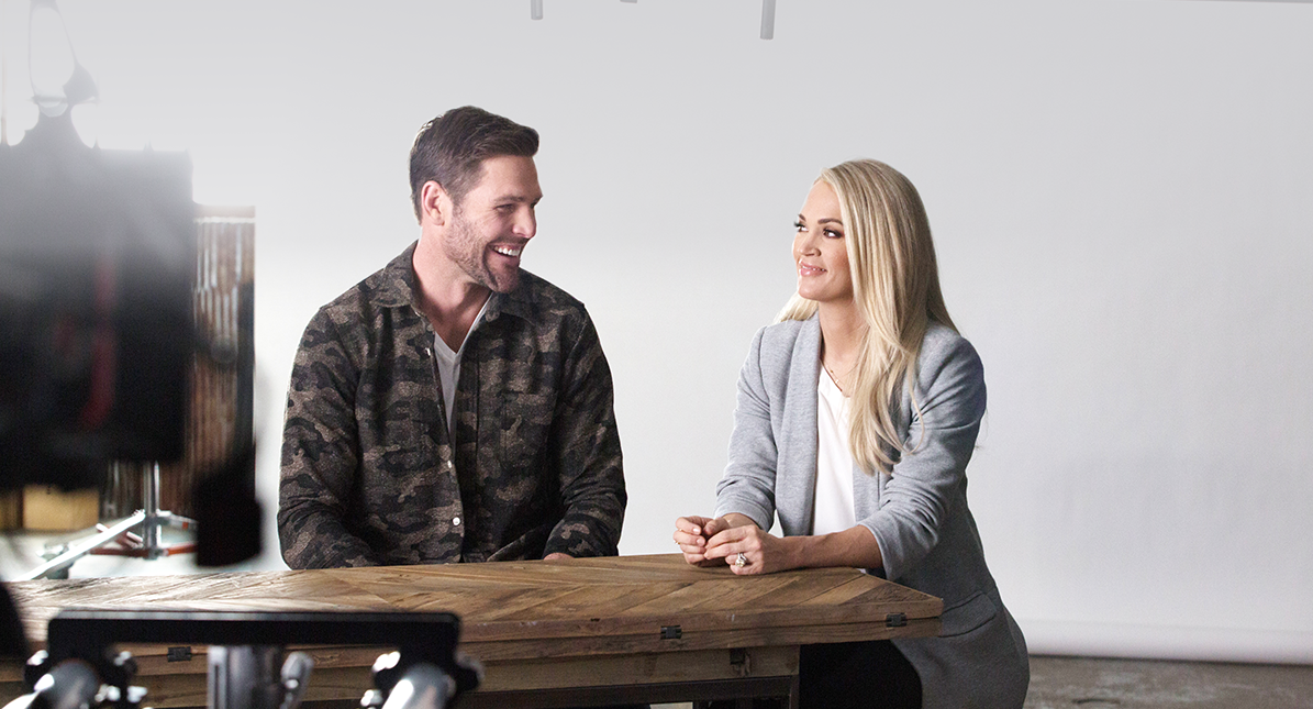 Mike Fisher And Carrie Underwood: God & Country