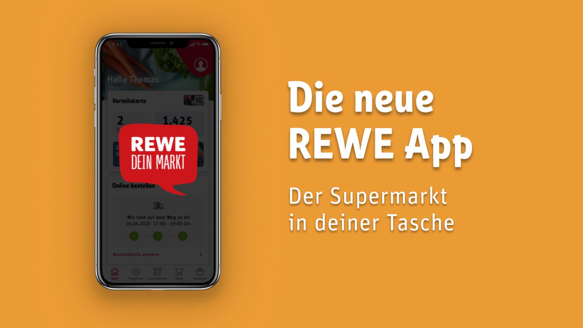 REWE Promo VIdeo für App