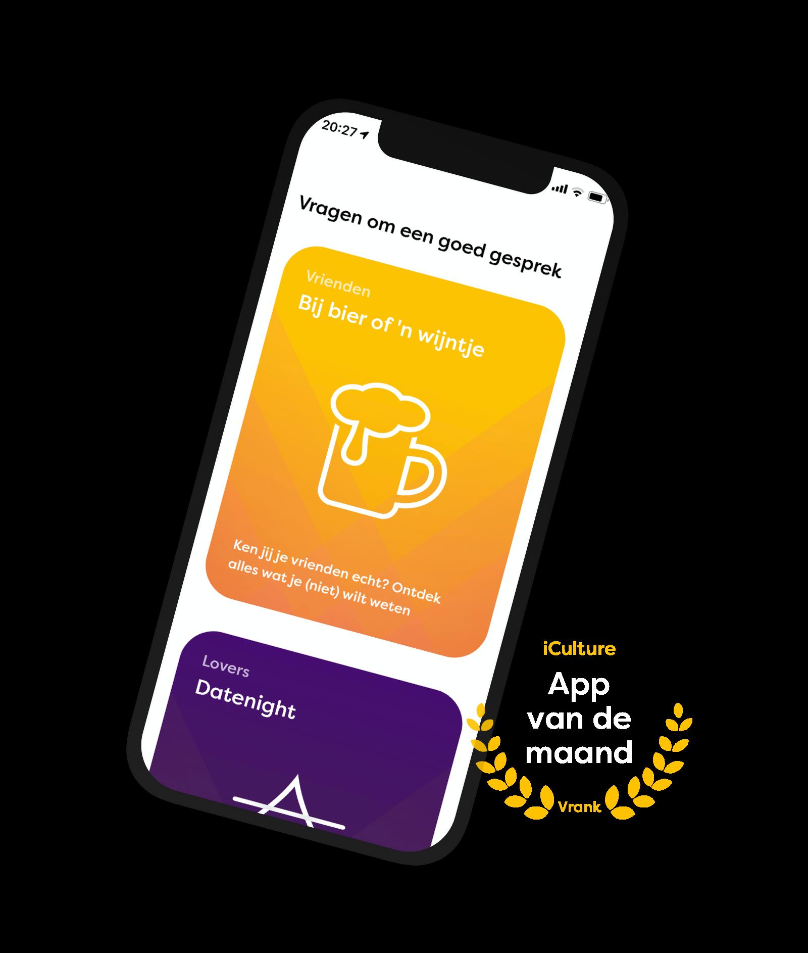 iPhone met Vrank: app van de maand iCulture