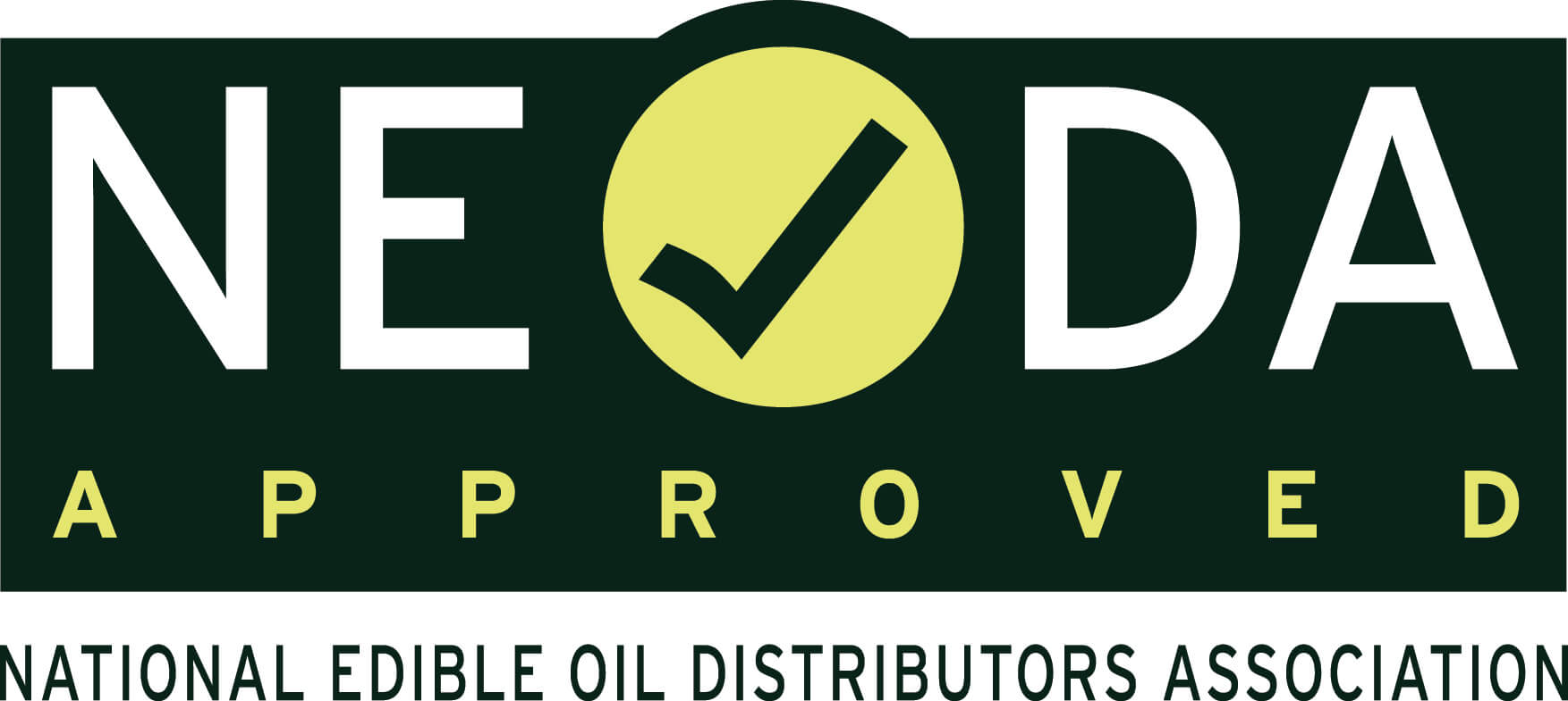 Approved by Neoda logo.