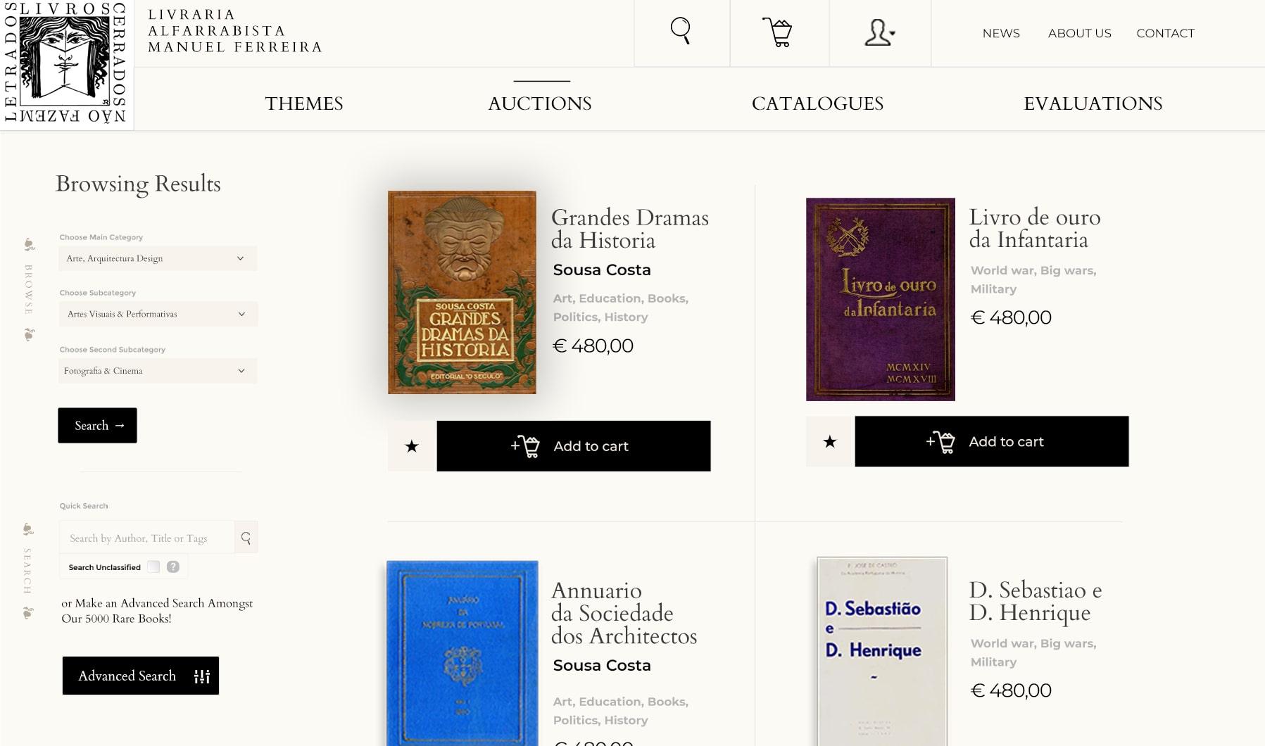Livraria Manuel Ferreira - Portfolio Image7