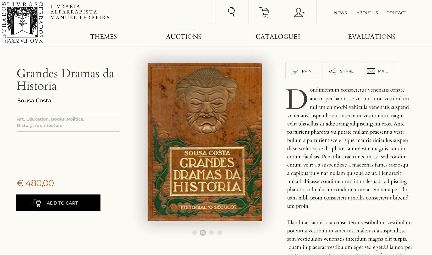 Livraria Manuel Ferreira - Portfolio Image2
