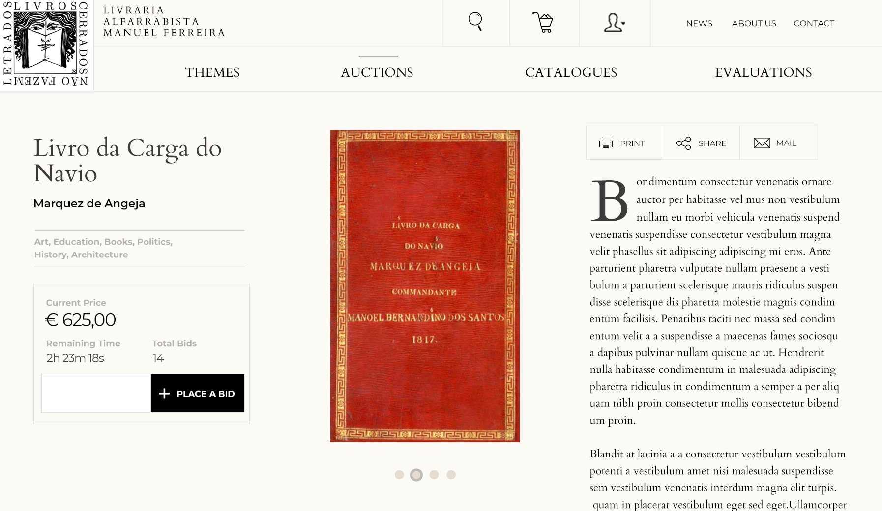 Livraria Manuel Ferreira - Portfolio Image3