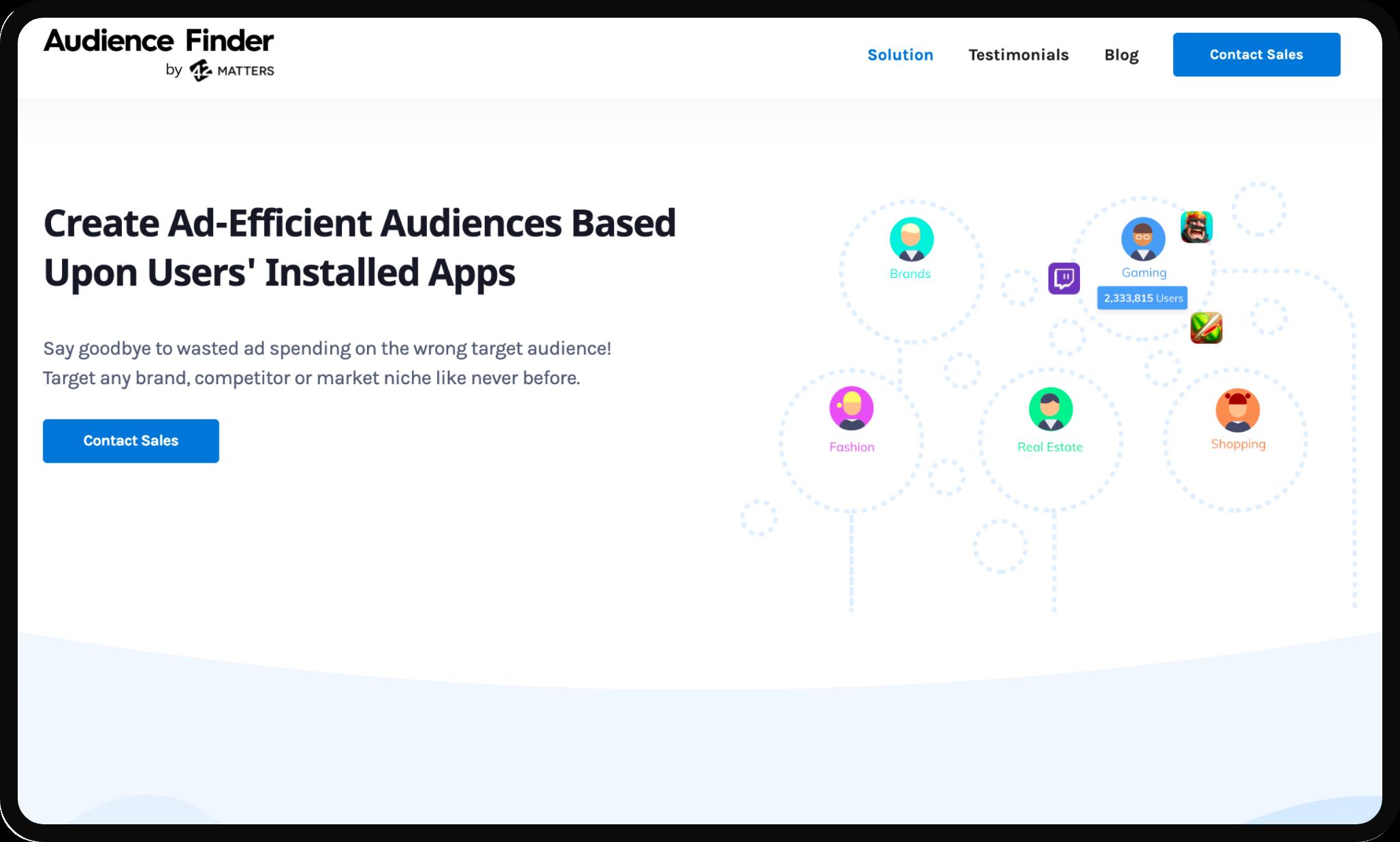 Audience Finder Image