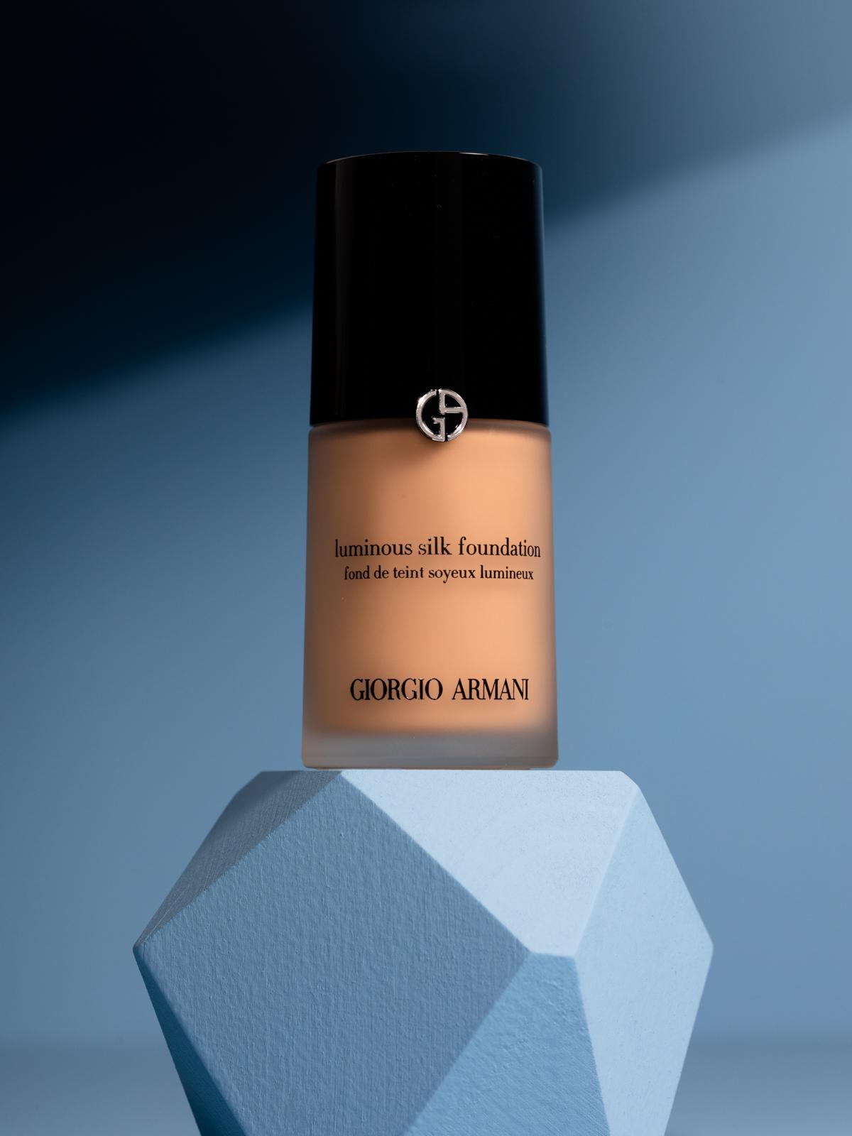 Currant Magazine presents a beauty holy grail: Giorgio Armani Luminous silk foundation.