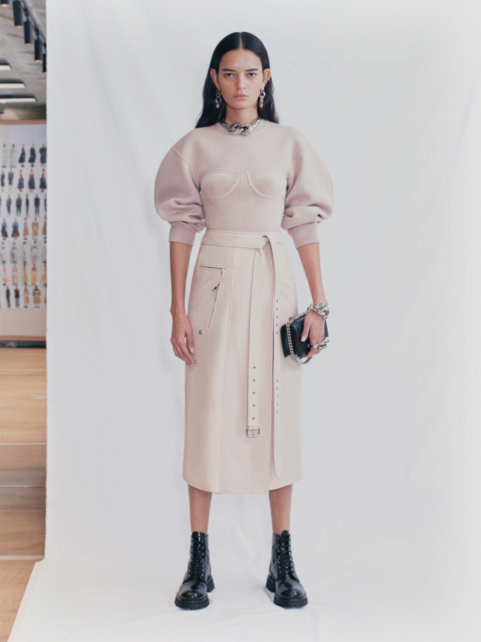 Camilla Nickerson for Alexander McQueen SS21