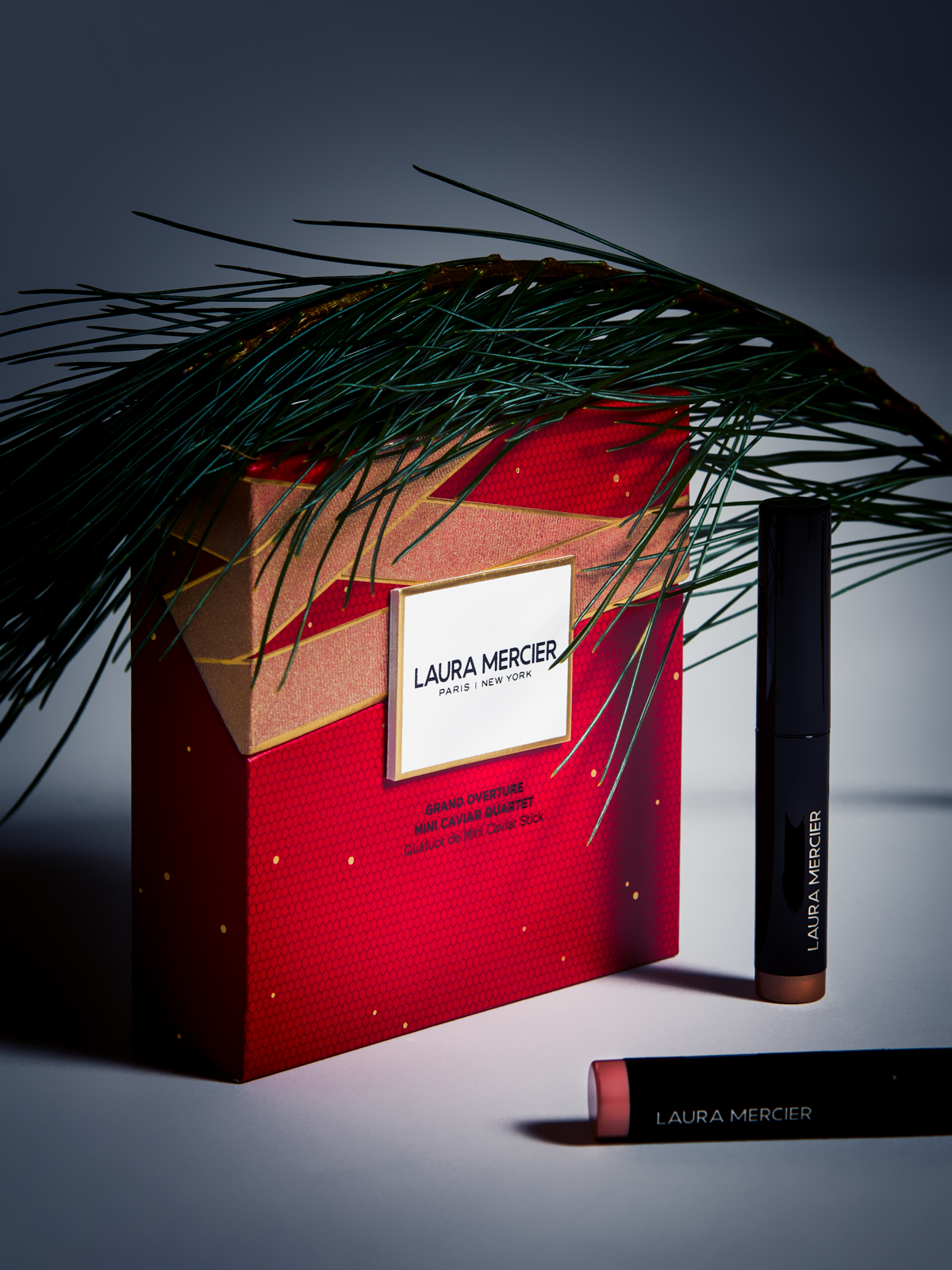 A beauty editorial about this year's holiday beauty collections, from Charlotte Tilbury to YSL and Shiseido.