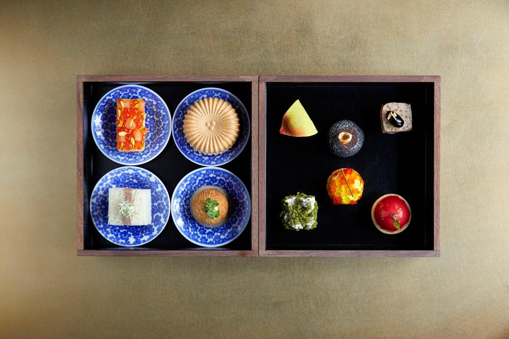 Aman Kyoto restaurant food