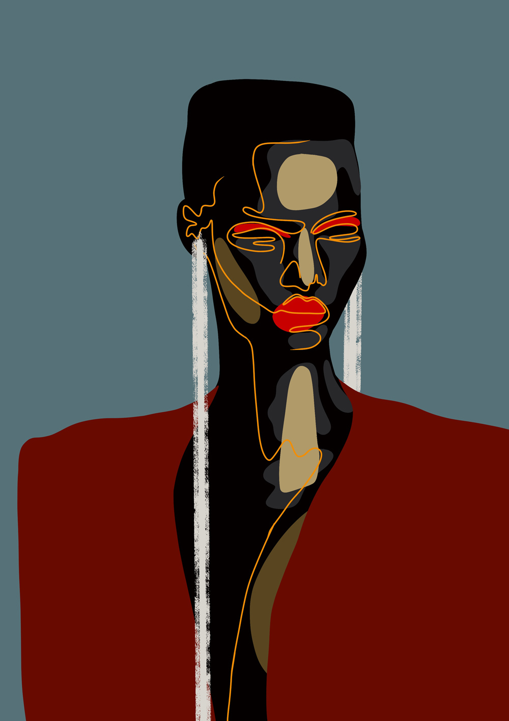Naledi Tshegofatso Modupi contemporary South African visual artist illustrator