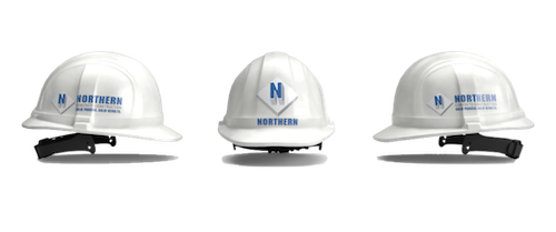 Northern Concrete safety hard hat