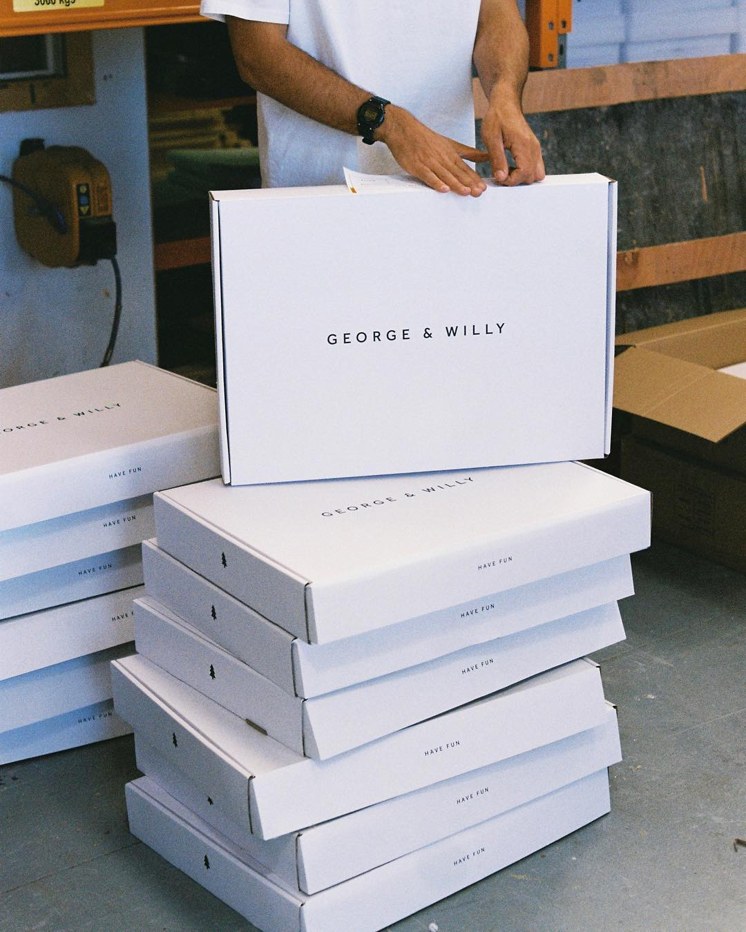 George & Willy Packaging