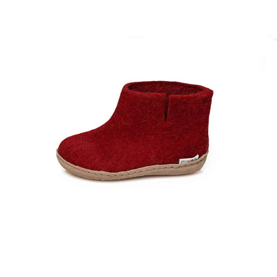 Glerups: Wool Low Boot Slippers