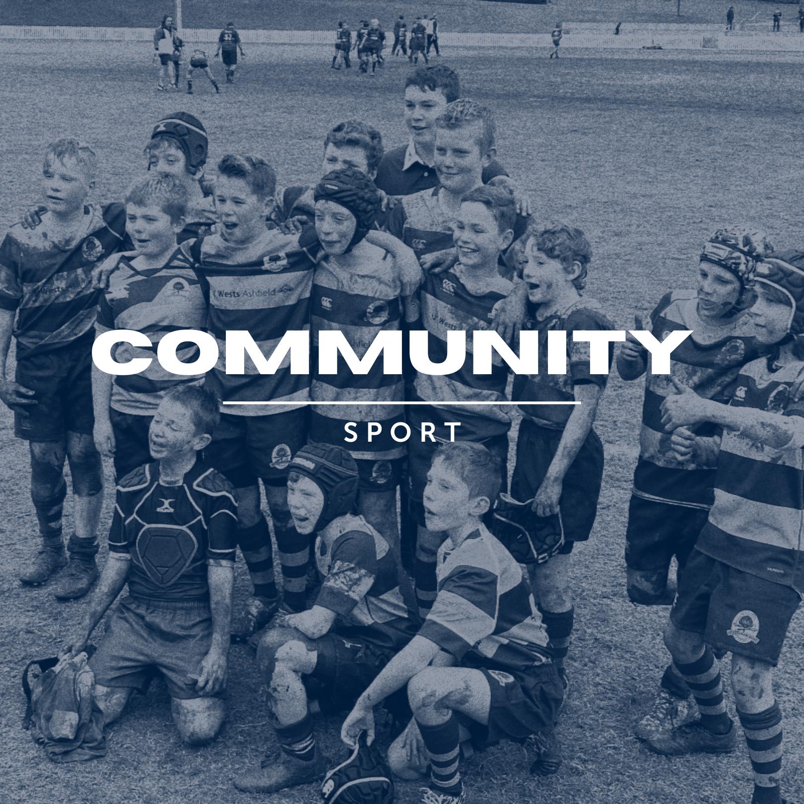 Community sport mockup