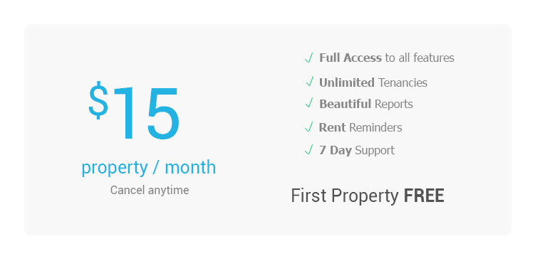 Updates Pricing for Rent Tracking Tool