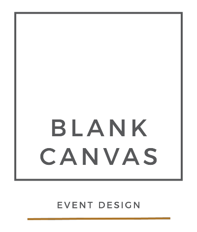 The logo for Blank Canvas events hosting, some of the top events planners in South Africa.