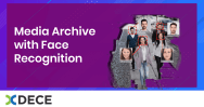 Media Archive with Face Recognition