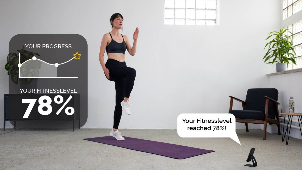 boost measuring fitness level