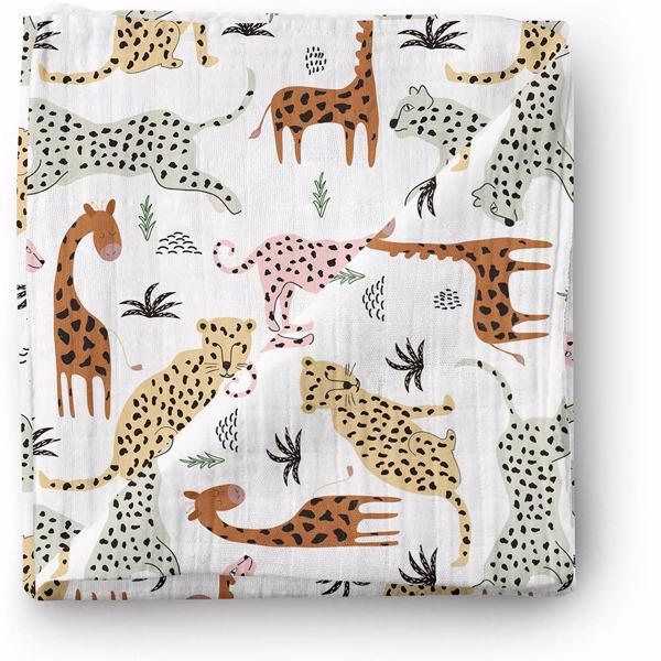 Aenne Baby Safari Animals Muselina