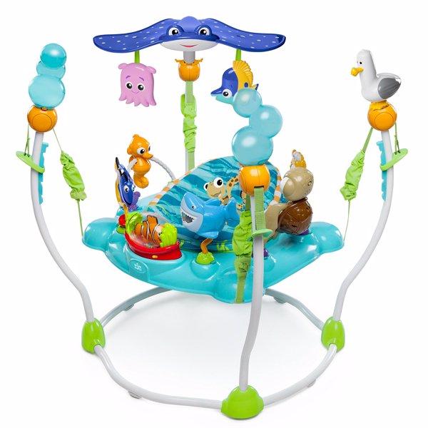 Disney Baby Saltador y Centro de actividades Buscando a Nemo