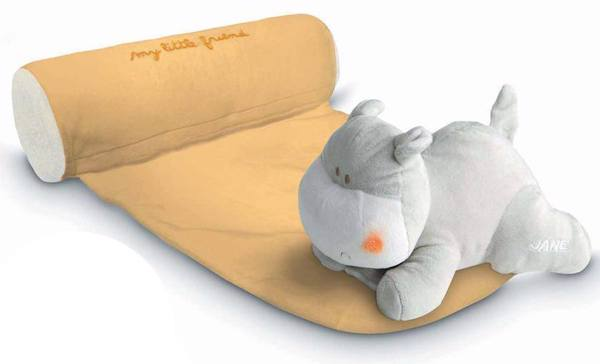 Cojín Antivuelco + Doudou Y Hippo