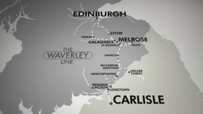 The old Waverley Line.