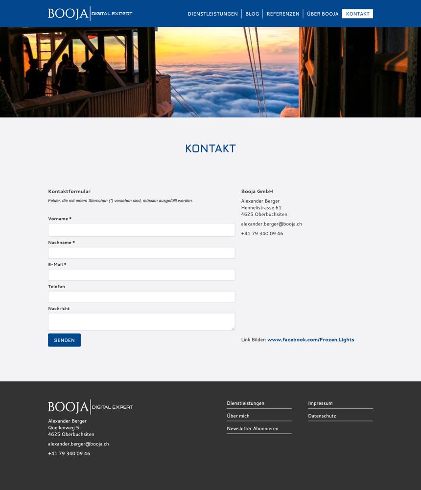 Booj Website