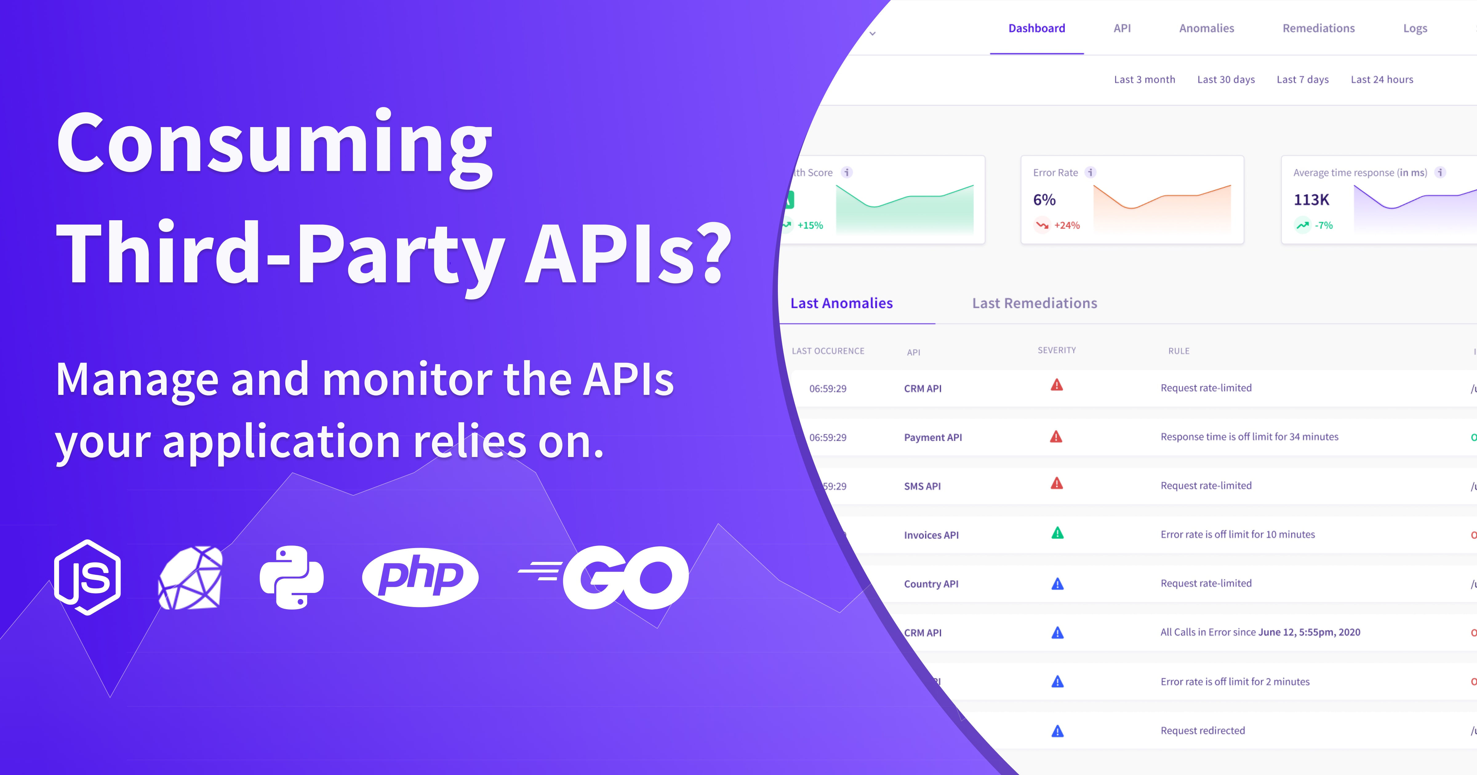 API Monitoring: Manage and Monitor Third-Party APIs ...