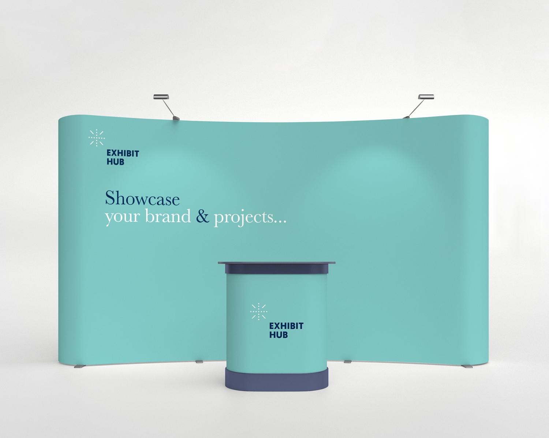 Portable tradeshow booth
