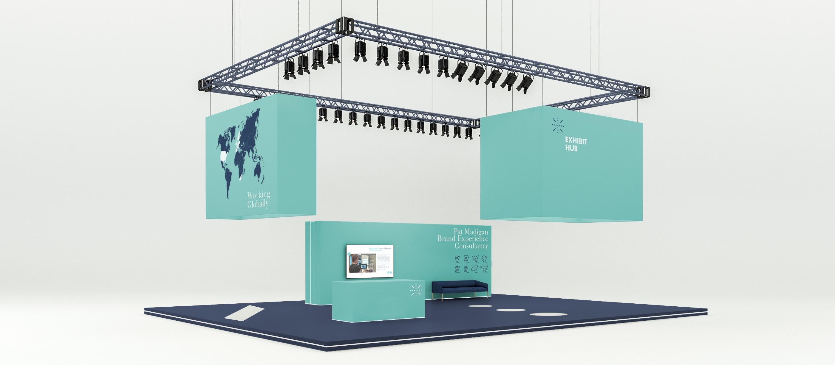 Bespoke tradeshow stand 1