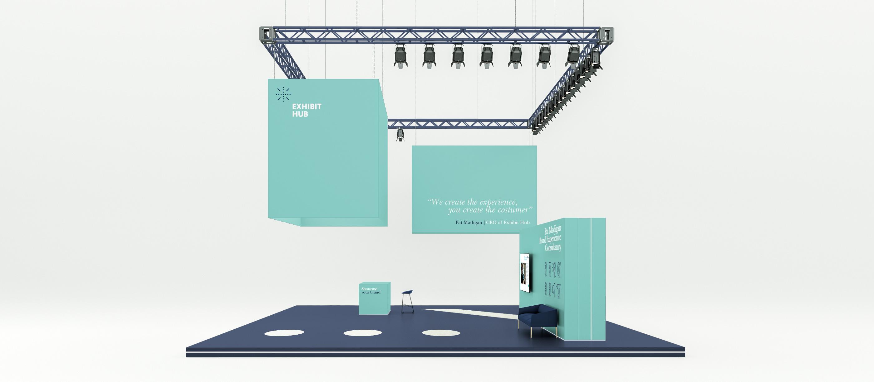 Bespoke tradeshow stand 7