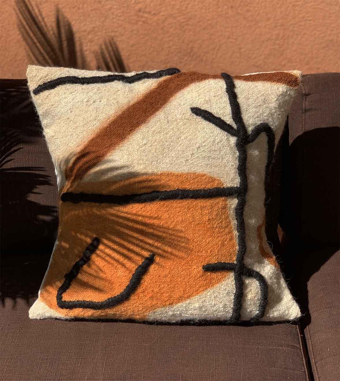 dar cushion cover