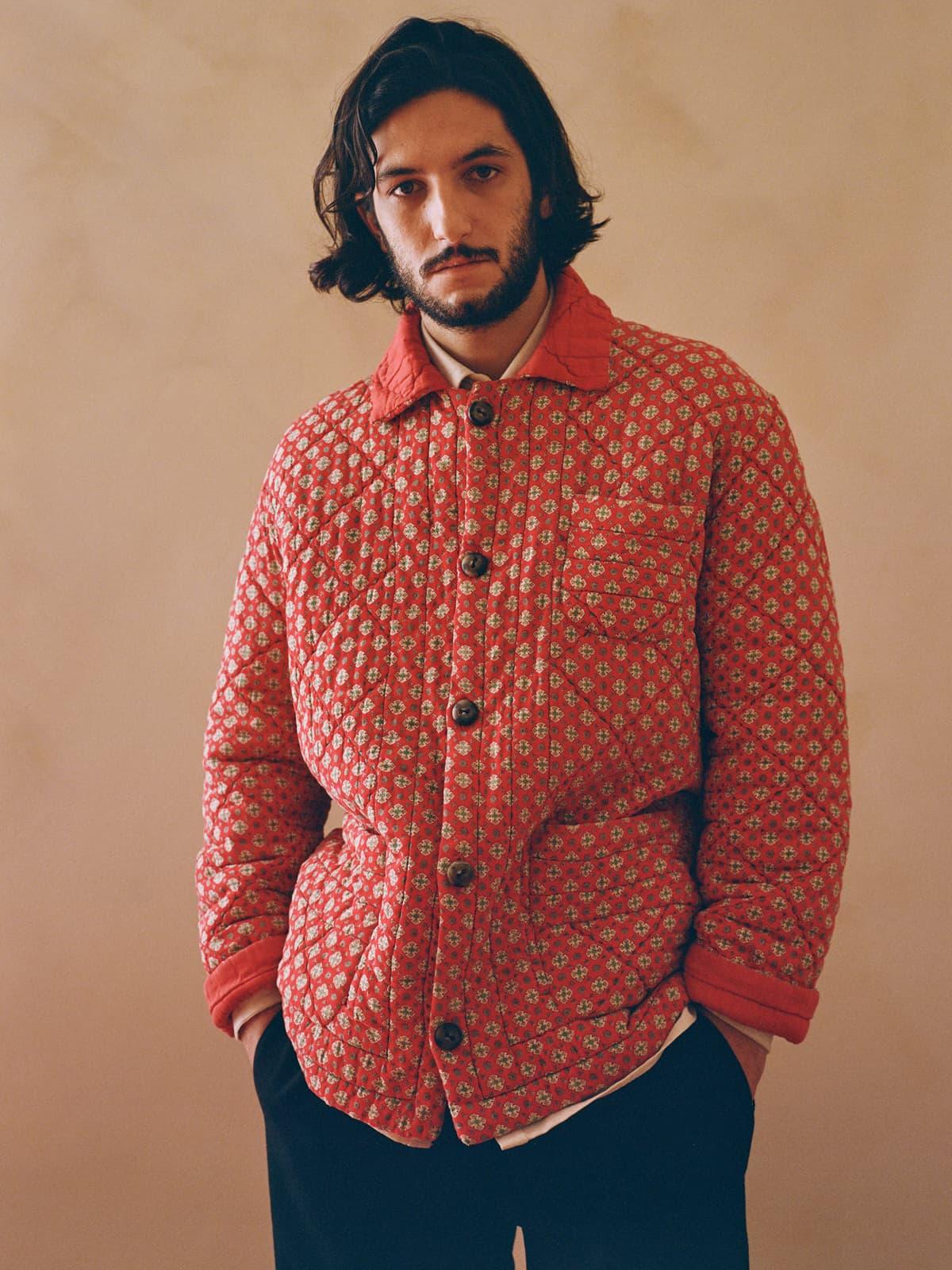 reversible provençal quilt jacket