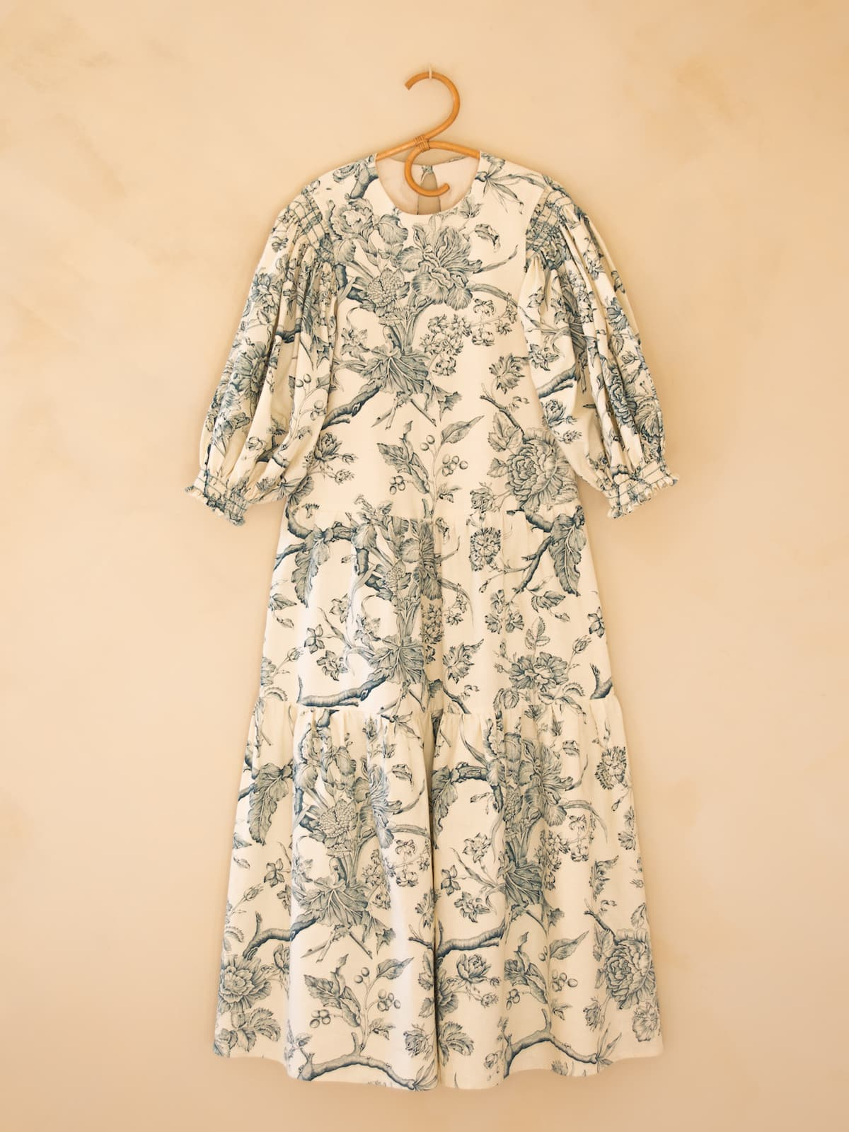 modular toile de Jouy dress